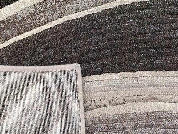 Silver (6343) Contemporary / Modern Area Rug