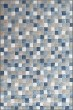 Product Image of Transitional Blue, Ivory (6121) Area Rug