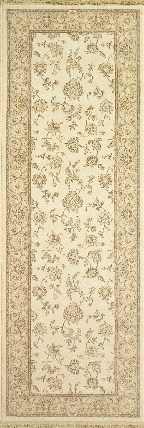 Ivory (121) Traditional / Oriental Area Rug