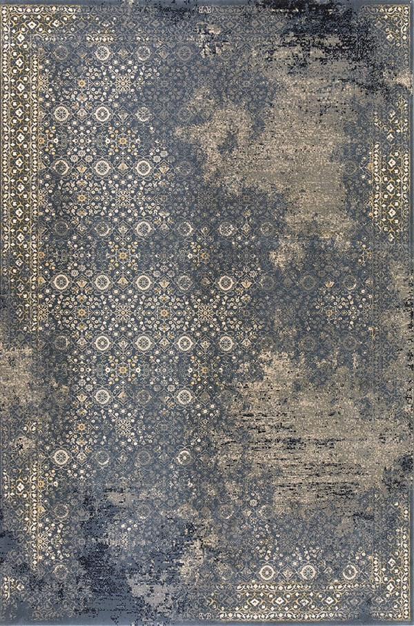 Blue (900) Vintage / Overdyed Area Rug