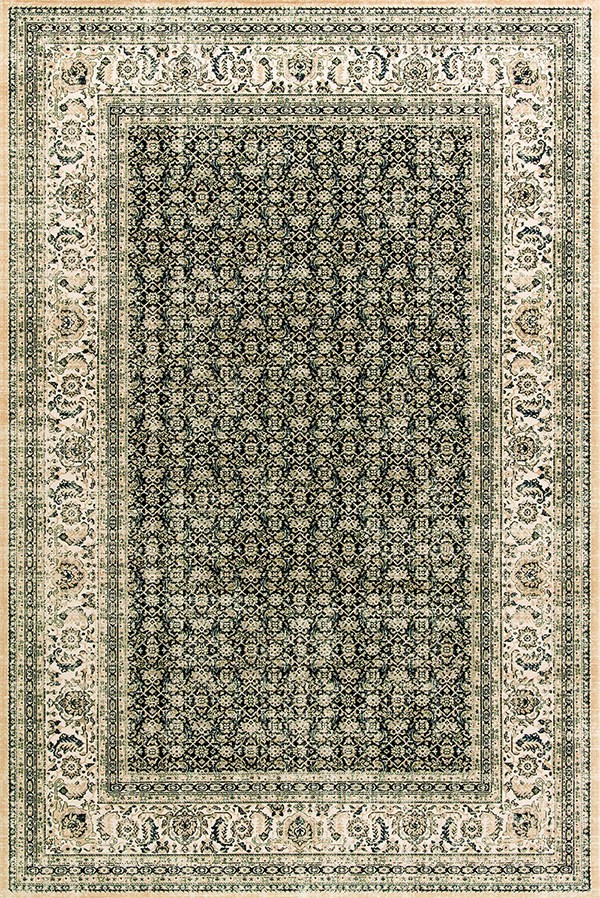 Navy (501) Traditional / Oriental Area Rug