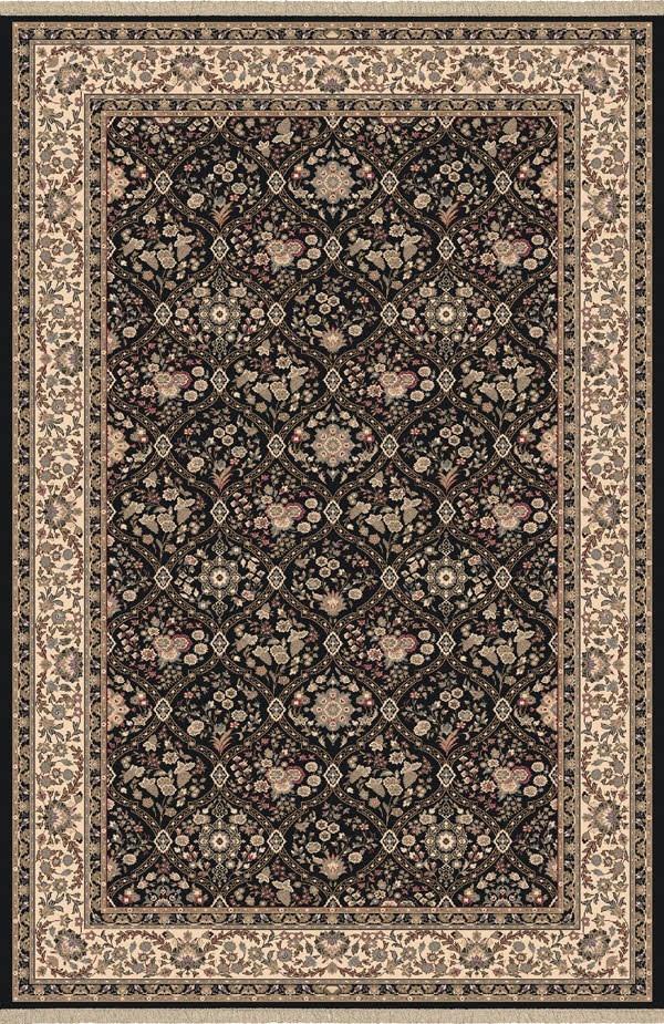Black (090) Traditional / Oriental Area Rug