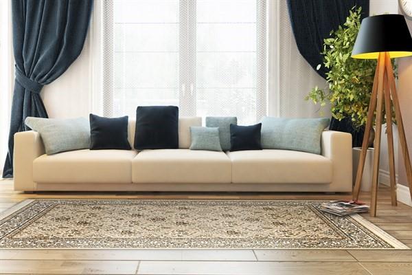 Linen (820) Traditional / Oriental Area Rug