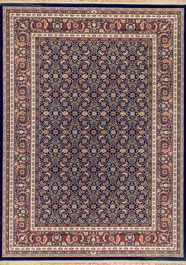 Navy (520) Traditional / Oriental Area Rug