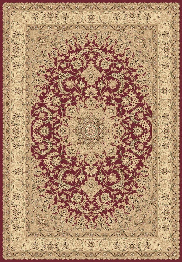 Red (300) Traditional / Oriental Area Rug