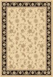 Product Image of Traditional / Oriental Ivory, Black (190) Area Rug