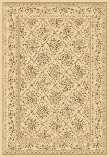 Ivory (100) Traditional / Oriental Area Rug