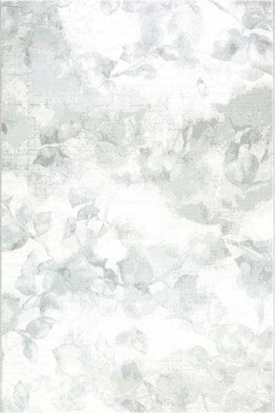 Silver (902) Floral / Botanical Area Rug