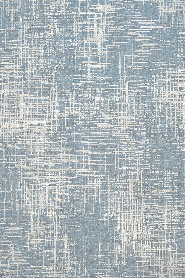 Blue (505) Contemporary / Modern Area Rug