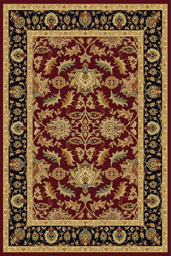 Red (310) Traditional / Oriental Area Rug