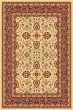 Product Image of Traditional / Oriental Cream, Red (130) Area Rug