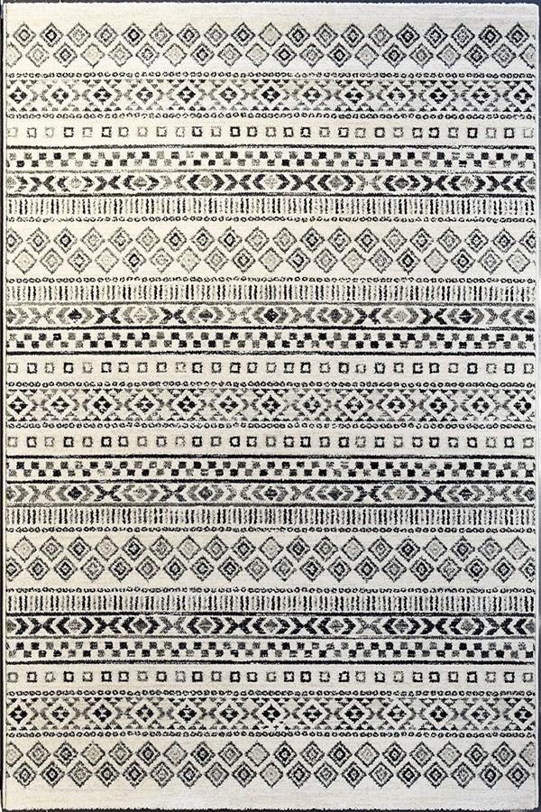 Ivory, Grey (6238) Southwestern / Lodge Area Rug