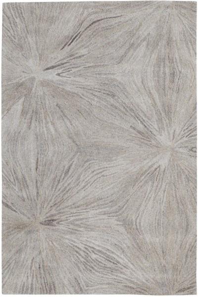 Grey (717) Floral / Botanical Area Rug