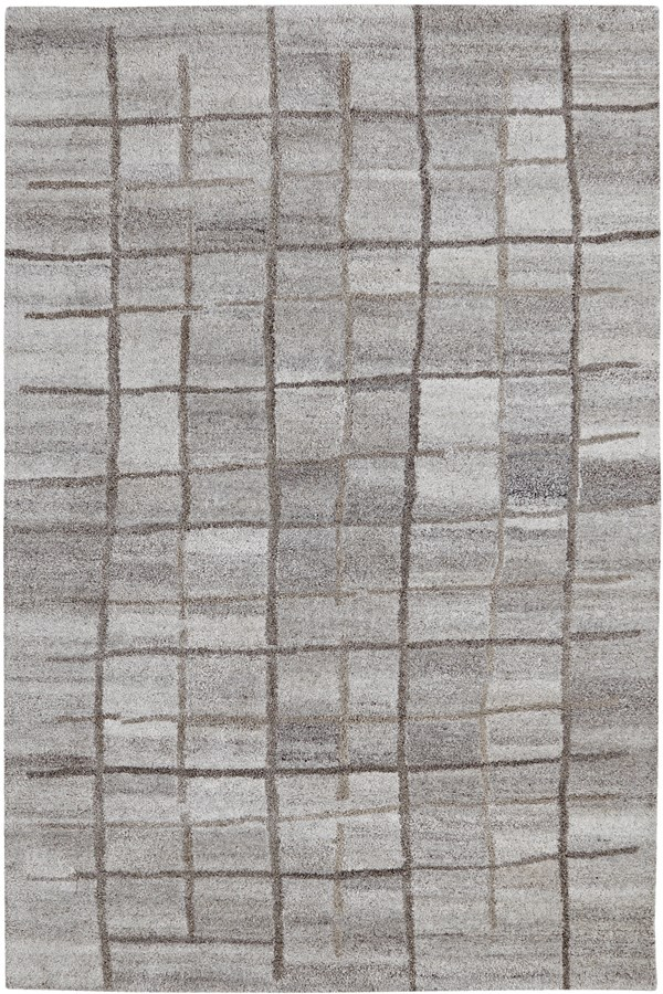 Grey (727) Transitional Area Rug
