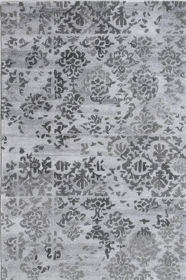 Grey (7814-900) Vintage / Overdyed Area Rug