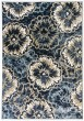 Product Image of Floral / Botanical Anthracite, Ivory (554) Area Rug