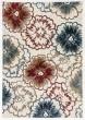Product Image of Floral / Botanical Ivory, Blue (996) Area Rug
