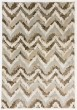 Product Image of Ivory, Brown (117) Chevron Area Rug