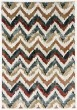 Product Image of Chevron Ivory, Red (996) Area Rug