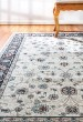 Product Image of Ivory, Black (414) Traditional / Oriental Area Rug