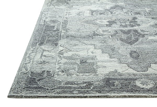 Silver, Ivory (119) Traditional / Oriental Area Rug