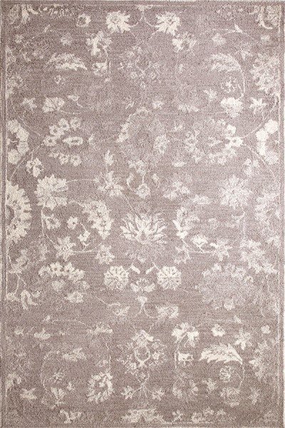 Silver, Ivory (900) Vintage / Overdyed Area Rug