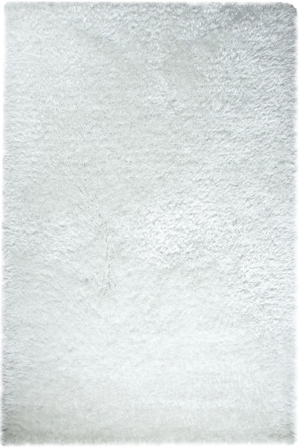 White (100) Solid Area Rug