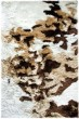 Product Image of Ivory, Beige Green (114) Abstract Area Rug