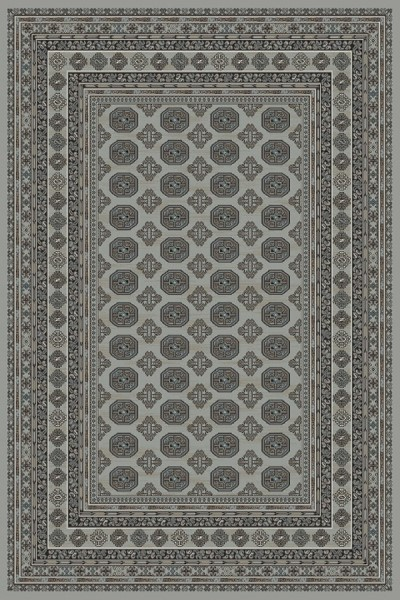 Grey, Beige (5959) Traditional / Oriental Area Rug