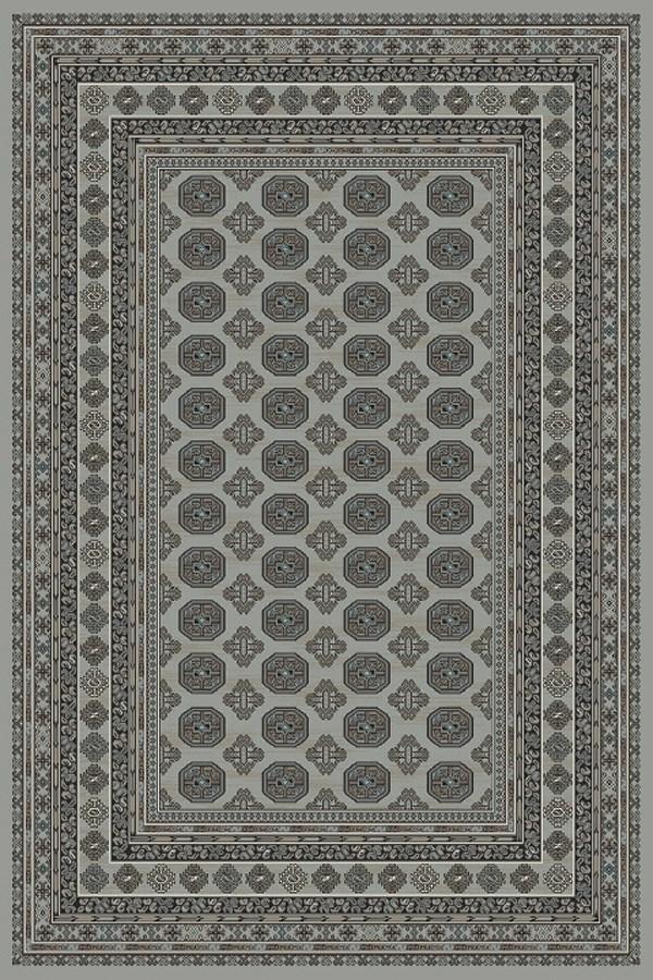 Grey, Beige (5959) Traditional / Oriental Area Rug