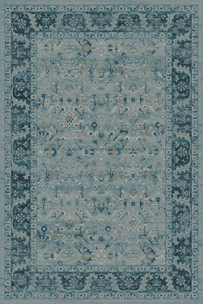 Blue, Blue (4989) Traditional / Oriental Area Rug