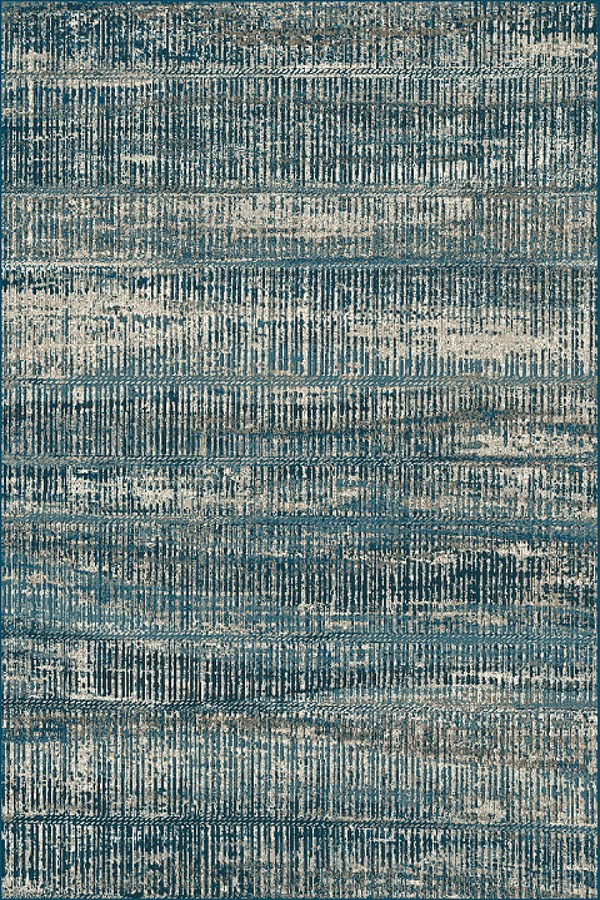 Blue, Beige (2989) Transitional Area Rug