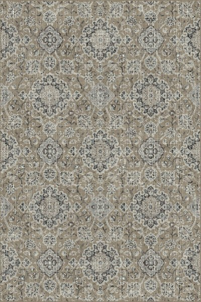 Taupe, Grey (2959) Traditional / Oriental Area Rug