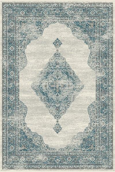 Grey, Blue (6949) Vintage / Overdyed Area Rug
