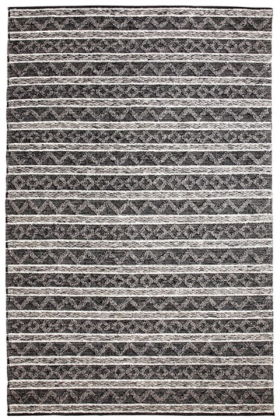 Charcoal, Silver (901) Moroccan Area Rug