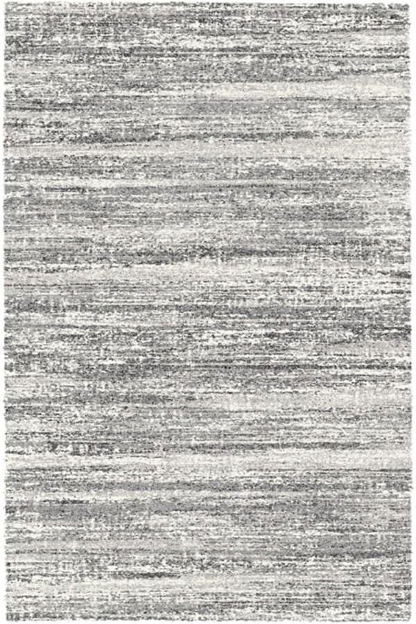 Black, White (6258) Transitional Area Rug