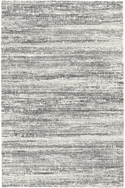 Black, White (6258) Transitional Area Rug