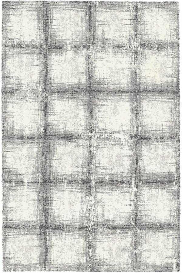 Black, White (6248) Transitional Area Rug
