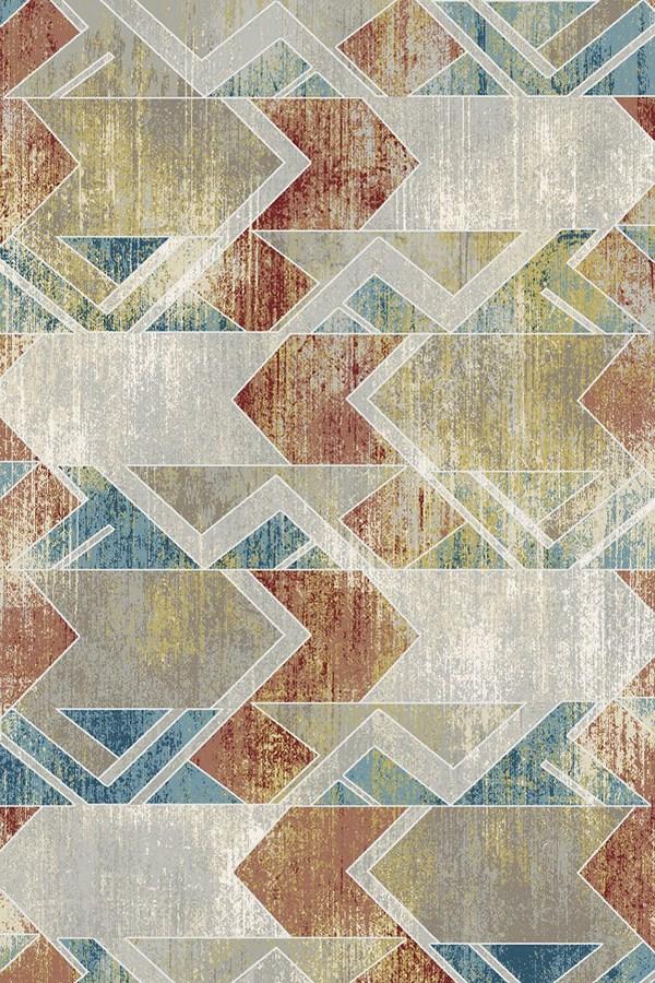 Grey (190) Contemporary / Modern Area Rug