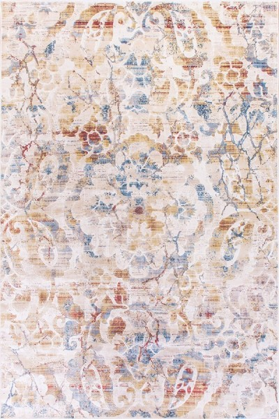 Ivory (109) Floral / Botanical Area Rug