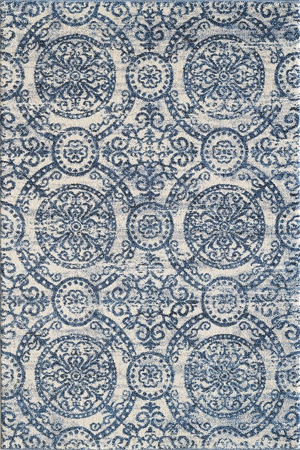 Blue (500) Mandala Area Rug