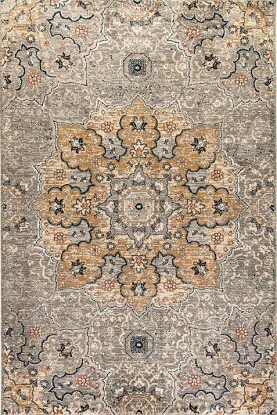 Light Gray (510) Mandala Area Rug