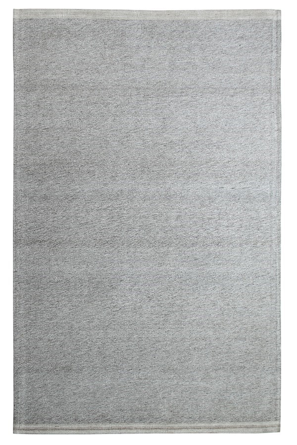 Beige Grey (190) Solid Area Rug