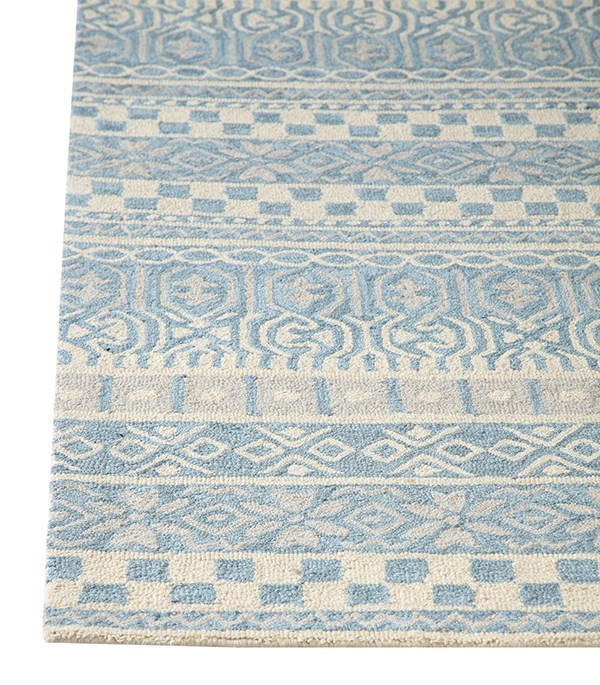 Blue (500) Moroccan Area Rug