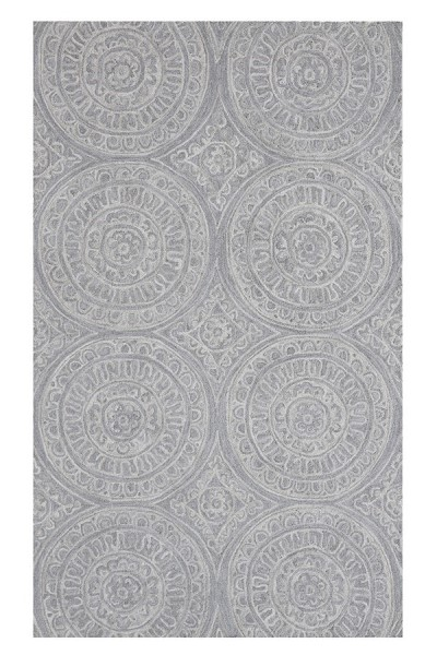 Silver (140) Transitional Area Rug