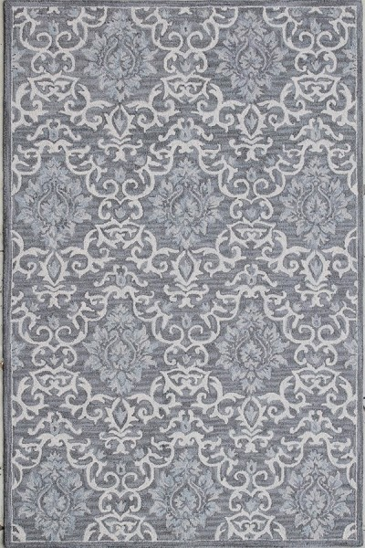 Grey (901) Traditional / Oriental Area Rug