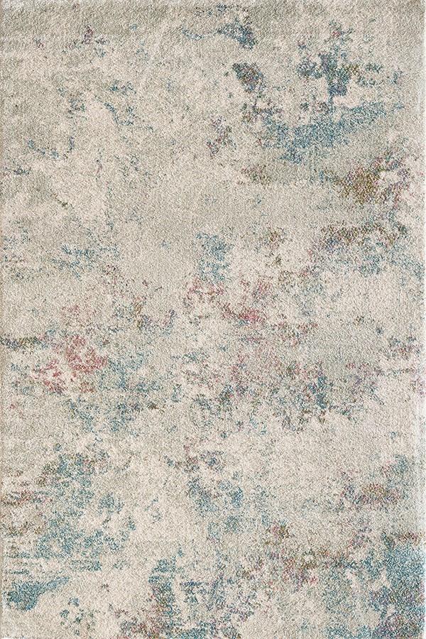Cream, Grey (909) Abstract Area Rug