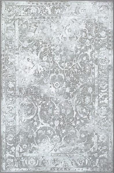 Light Grey, Charcoal (6959) Vintage / Overdyed Area Rug