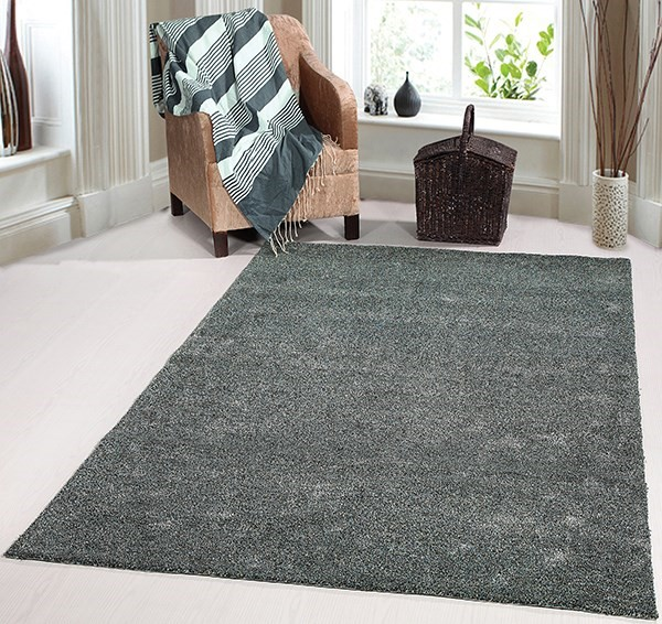 Charcoal (8390-999) Solid Area Rug
