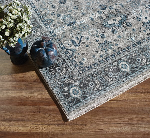 Blue (6881-550) Traditional / Oriental Area Rug